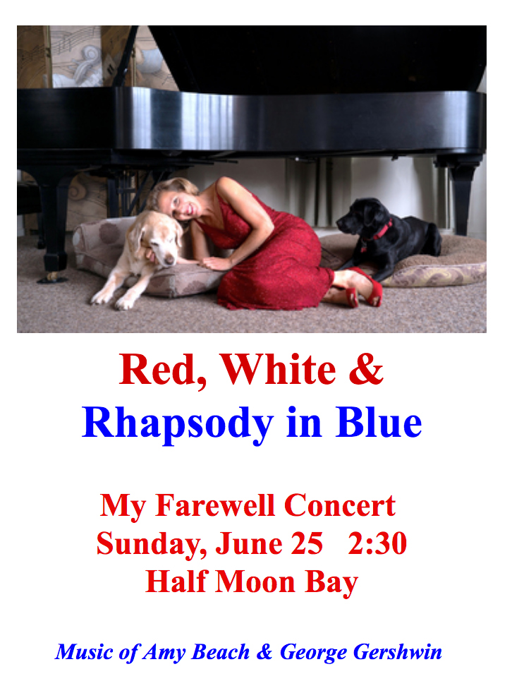 Red White and Rhapsody in Blue